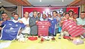 Bashundhara Kings unveil jersey
