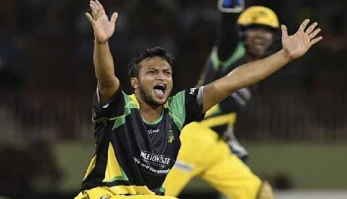 Shakib shines, Jamaica Tallawahs beat Barbados Tridents in CPL