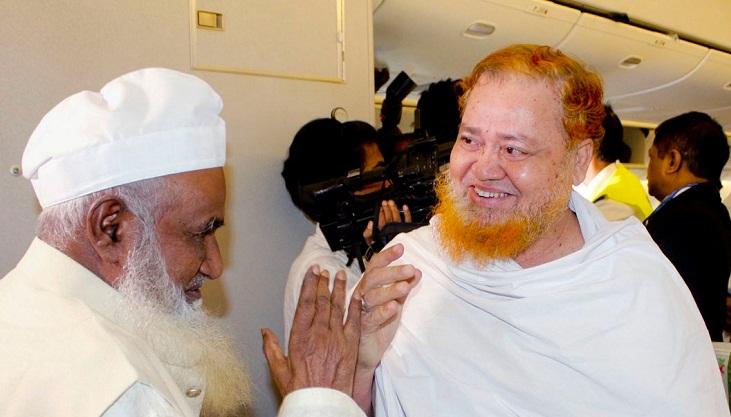 Hajj flight with 418 pilgrims off to Jeddah from Sylhet