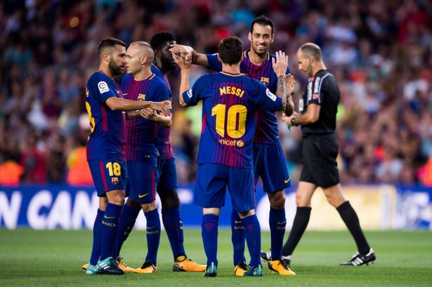 Barcelona beat Brazil's Chapecoense 5-0 in emotional friendly