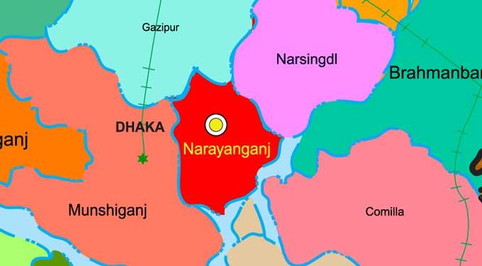 Bullet-hit terrorist held after gunfight in Narayanganj