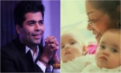 Karan Johar shares first picture of his twins, Yash and Roohi