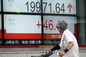Asian stocks lower as US, North Korea nuclear tensions rise