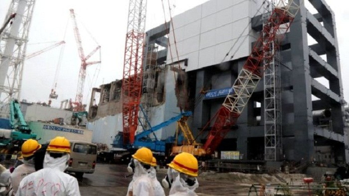 Suspected WW2 bomb found at Fukushima nuclear site