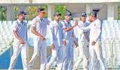 Shafiul shines on Day-1