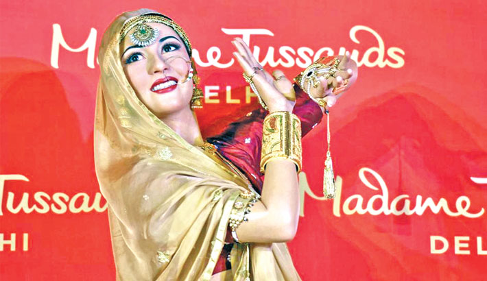 Madhubala's wax figure unveiled at Madame Tussauds in Delhi