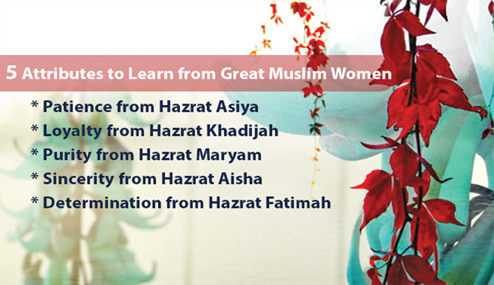 Muhammad (pbuh): Role model for women