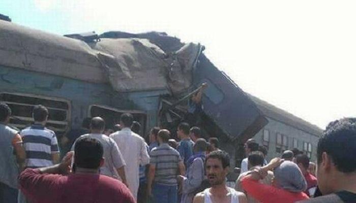 36 killed and 109 injured in Egypt train crash