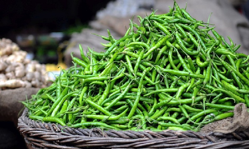 Top health benefits of green chillies