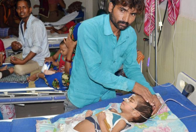 63 kids die in 5 days at a India hospital