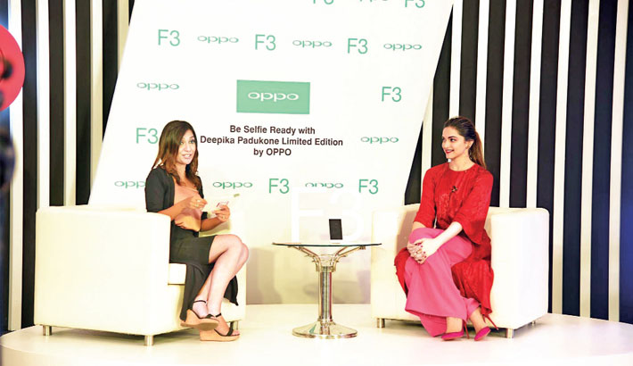 OPPO F3 Deepika Edition unveiled