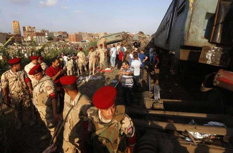 Death toll in Egypt train collision reaches 43
