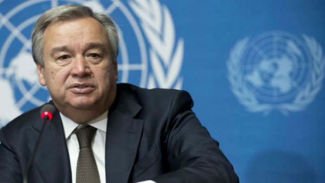 UN chief highlights youths' role in peace building