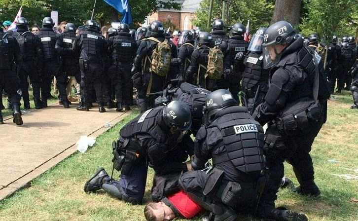 Virginia erupts in violent clashes