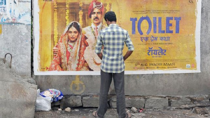 India's toilet crisis now on silver screen