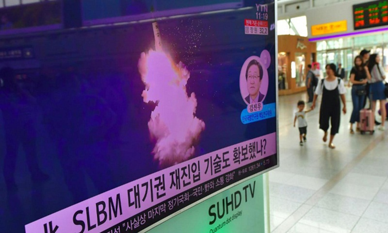 Satellite photos suggest North Korea preparing submarine missile test: Report