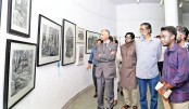 Annual art exhibition at Dhaka University