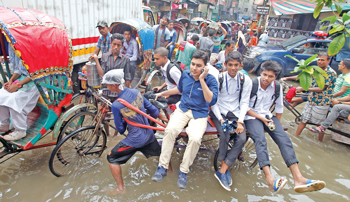 Dhaka Deluged