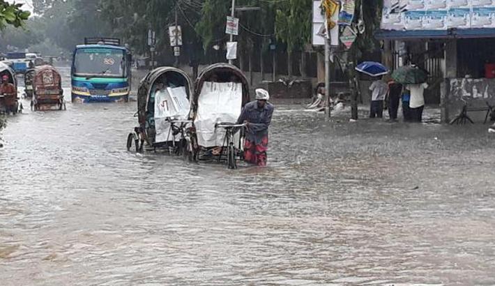 Non-stop rain hits city life