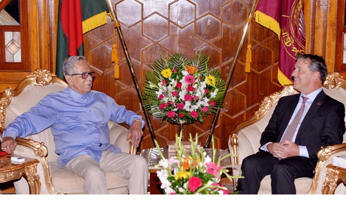 Canadian High Commissioner pays farewell call on President
