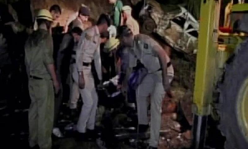 50 feared dead as landslide sweeps away 2 buses in Indian Himachal Pradesh