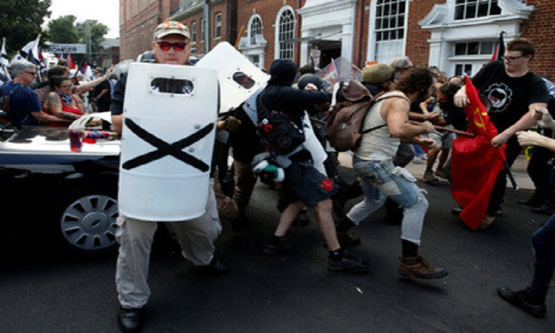 3 killed at clashes in Virginia white nationalist rally