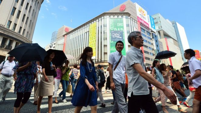 Japan economy revs up to 4 pct annual growth in April-June
