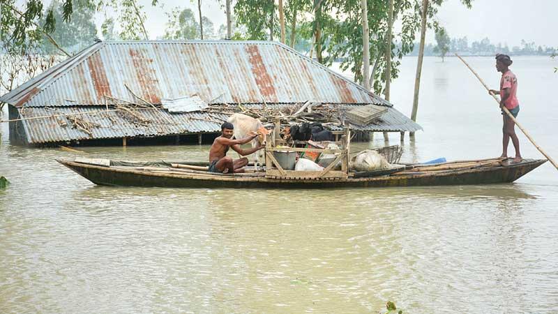 Flood situation deteriorates in Jamalpur