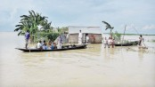 Flood situation worsens in Natore