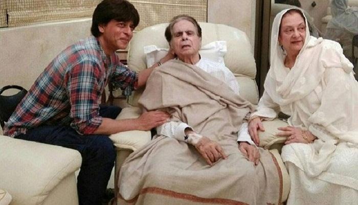 Shah Rukh Khan visits ailing Dilip Kumar