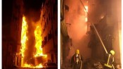 6 buildings in Jeddah's old town go up in flames (Video)