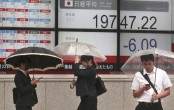 Asian shares mixed after US indexes take small losses