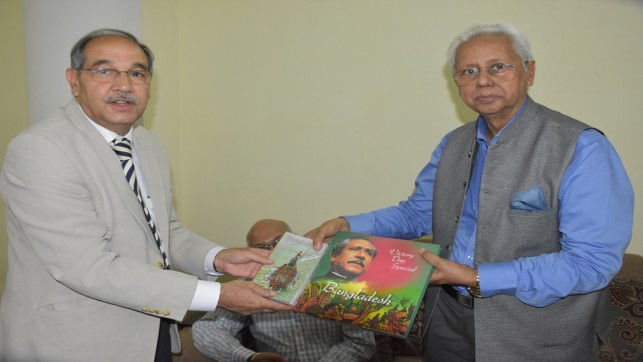 Bangladesh for promoting cultural, economic ties with India
