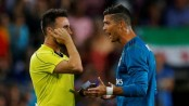 Ronaldo says his ban for pushing referee is 'persecution'