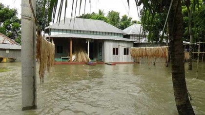 100 Faridpur villages flooded as Padma flowing over danger mark