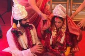 Riya Sen marries her long-time boyfriend Shivam Tiwari