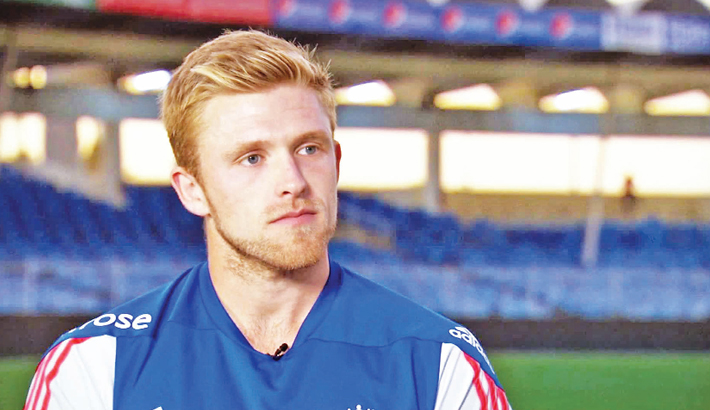 David Willey in Rangpur camp for BPL-5