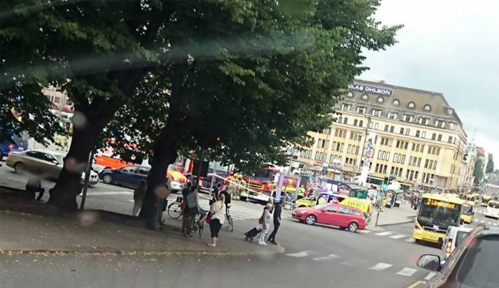 Man shot after stabbings in Finnish city