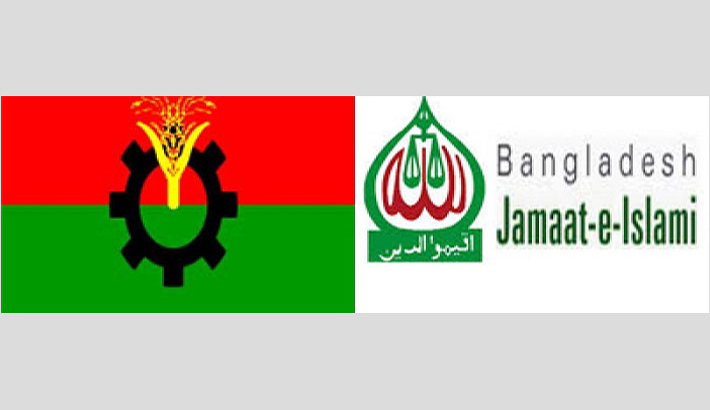 BNP divided over  Jamaat issue