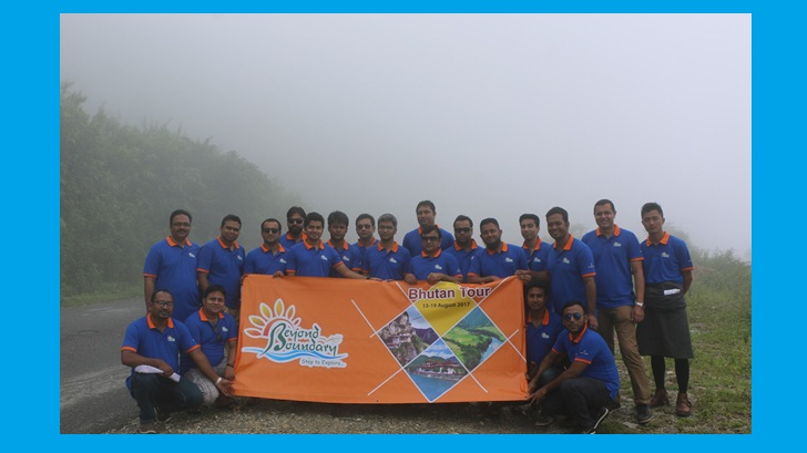 Beyond Boundary Traveling Club completes Bhutan Tour