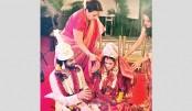 Riya Sen ties the knot with Shivam in Pune