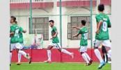 Bangladesh outplay Sri Lanka SAFF U-15 opener