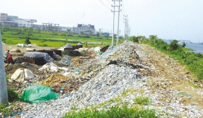 No safe disposal of solid waste yet