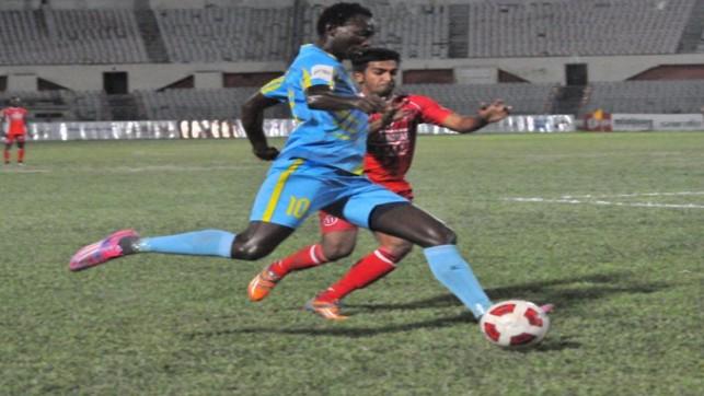 BPL football: Dhaka Abahani beat Sk Russel 2-0