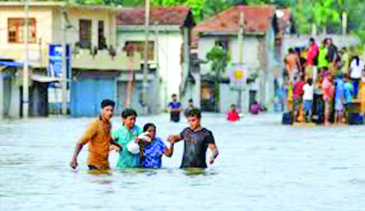 Save flood-affected children, vulnerable people