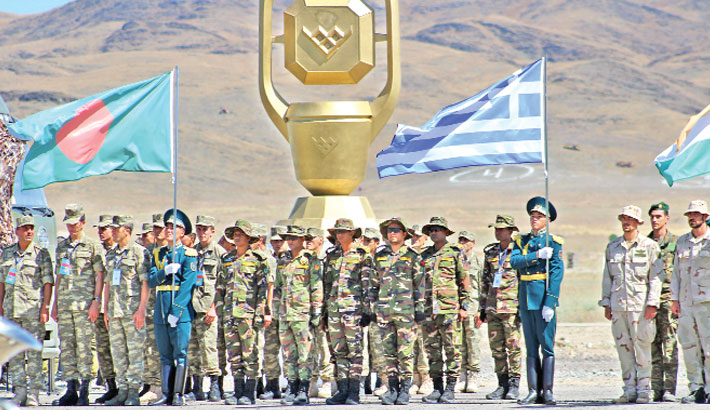 Army participate in  'Int'l Army Games'