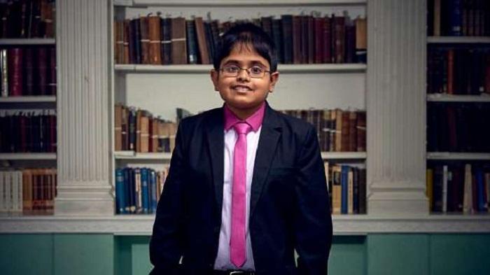 Indian-origin TV star crowned 'Child Genius'