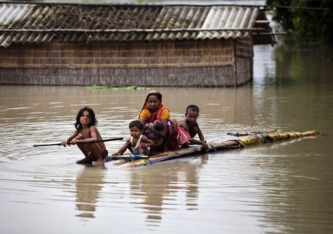 More 45 villages submerged in Natore