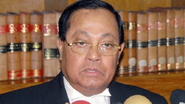 Moudud appreciates government move to file writ against Supreme Court verdict