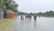 Floodwater starts receding